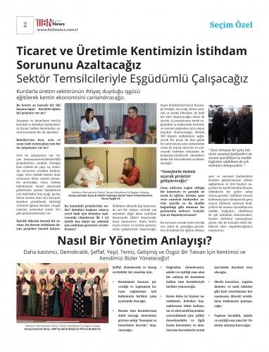 Bitlis News Gazetesi Seçim Özel Sayısı 2
