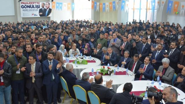 Ak Parti Tatvan Belediye Başkan Adayı Geylani'nin Proje Toplantısı