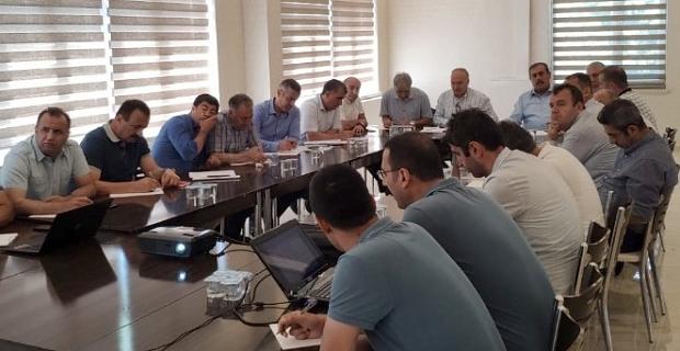 Ahlat'ta milli eğitim müdürleri toplantısı