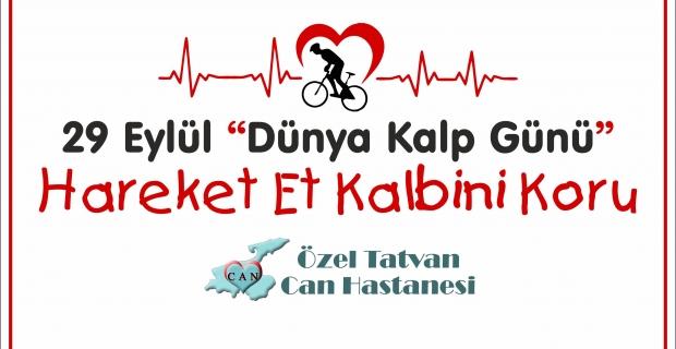 Can Hastanesinden 'Dünya Kalp Günü' için etkinlik!