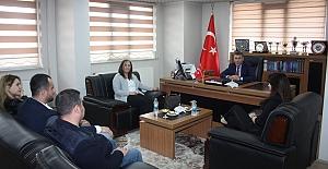 """TATSO'dan Bitlis Barosu'na """"Avukatlar günü"""" ziyareti"""