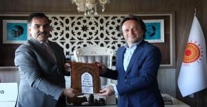 TCDD Genel Müdürü Uygun'dan başkan Çoban'a ziyaret
