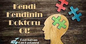 """Psikiyatri Uzmanı Özdemir """"Kendi kendinin doktoru ol!"""""""