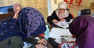 Bitlis'te resim kursuna yoğun ilgi
