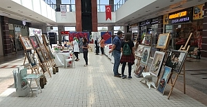Tatvanlı kadınlardan el sanatları sergisi