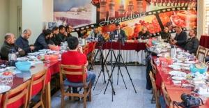 Bitlis Belediye Başkanı Tanğlay basınla bir araya geldi