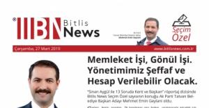 Bitlis News Gazetesi Seçim Özel Sayısı 1