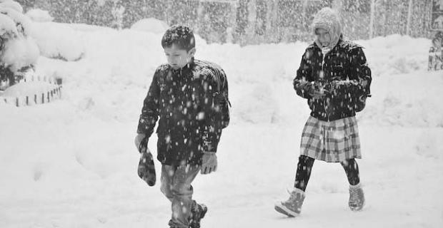 Tatvan'da eğitime kar engeli!