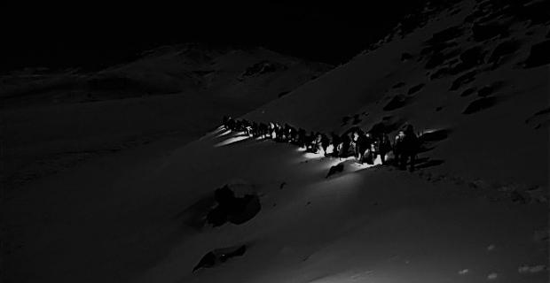 Süphan Dağı'na zirve tırmanışı