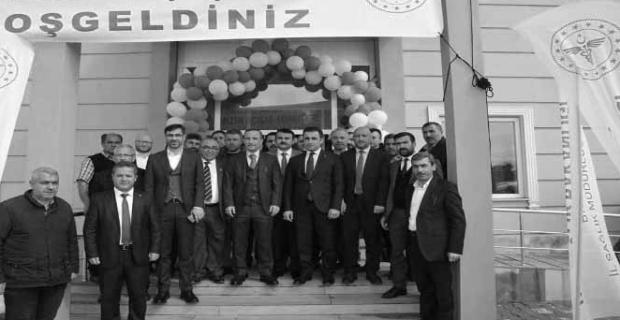 Güroymak'taki sağlık tesislerinin açılışı yapıldı