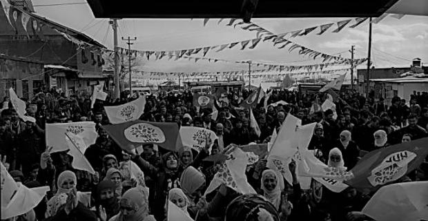 Ovakışla'da HDP seçim bürosu açılışına yoğun ilgi