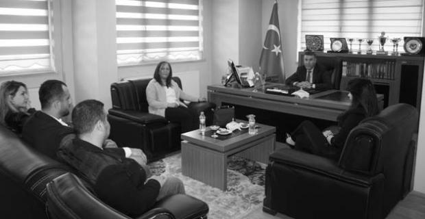 """Bitlis Barosu'na """"Avukatlar günü"""" ziyareti"""