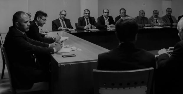 Bitlis Belediye Başkanı Tanğlay, birim amirleri ile toplantı yaptı