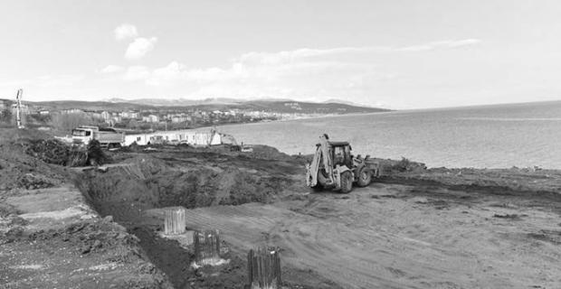 Erdoğan'ın Van Gölü kıyısına istediği köşkün yapımına başlandı