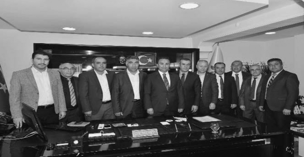 Sendika başkanlarından Barlak'a ziyaret