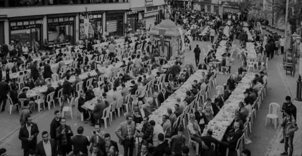 Bitlis'te 3 bin kişi iftar yemeğinde buluştu