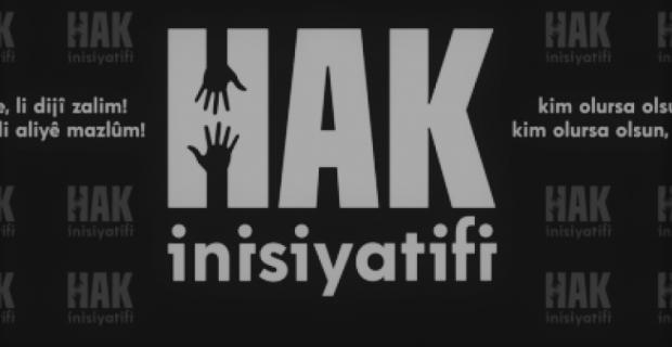 """Hak İnisiyatifi """"9 HDP'li ile ilgili karar geri alınmalıdır!"""""""