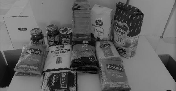 Muhtaç ailelere 3 bin 500 koli gıda yardımı