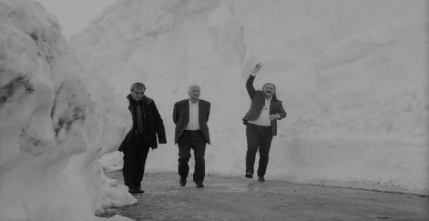 Nemrut'ta kar kalınlığı 8 metre