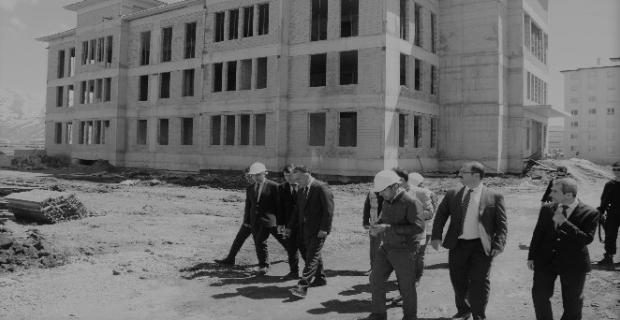 Vali Oktay Çağatay, 112 Acil Çağrı Merkezi inşaatını inceledi