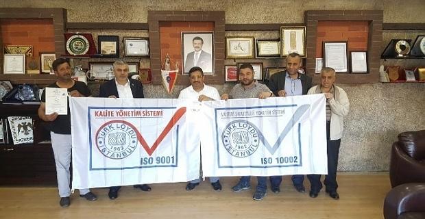 TATSO, ISO 9001 ve ISO 10002 belgelerini aldı