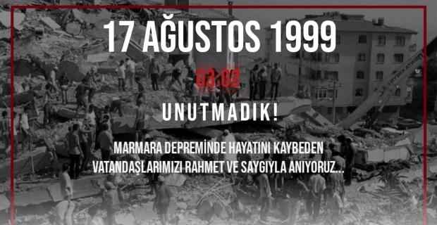 TATSO Başkanı Adabağ'dan Marmara Depremi mesajı