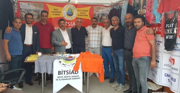"""TATSO Başkanı Adabağ'dan """"Büyük Bitlis Buluşması"""" ziyareti"""