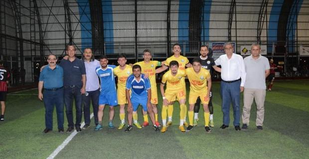 TATSO Futbol takımı finale çıktı