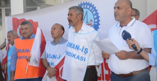 Vangölü Feribot İşletmesi çalışanlarından basın açıklaması