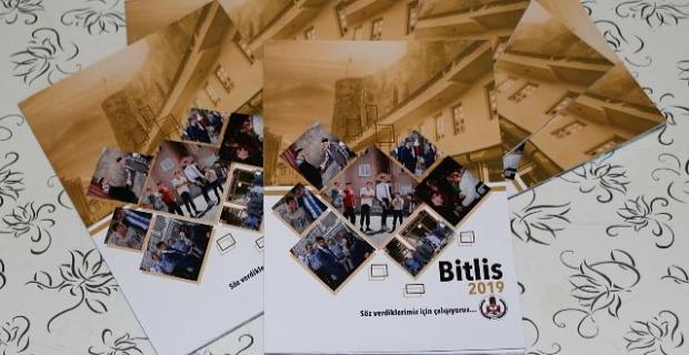 Bitlis Belediyesi 2019 faaliyet bültenini yayınladı