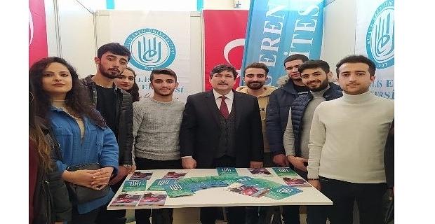 """Bitlis Eren Üniversitesi """"Güneydoğu Bölgesel Kariyer Fuarı""""na katıldı"""