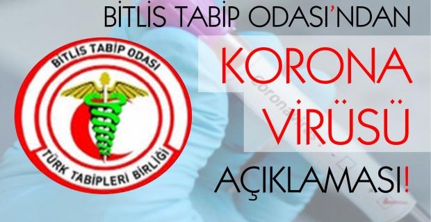 """Bitlis Tabip Odası: """"Yeni bir aşamaya geçtik!"""""""