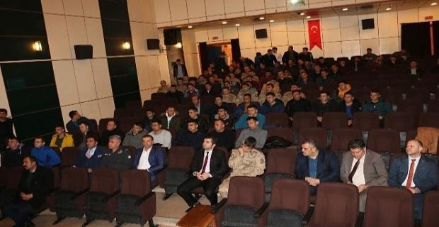 Hizan'da jandarma ve emniyet personeline korona virüsü eğitimi verildi