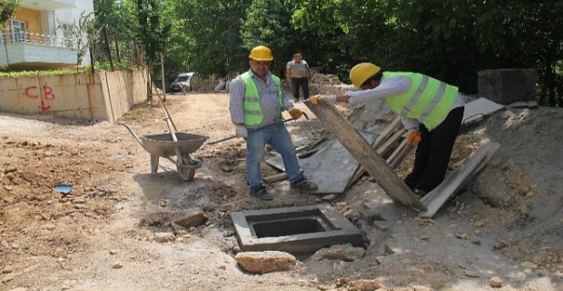 Bitlis Belediyesi altyapı çalışmaları devam ediyor