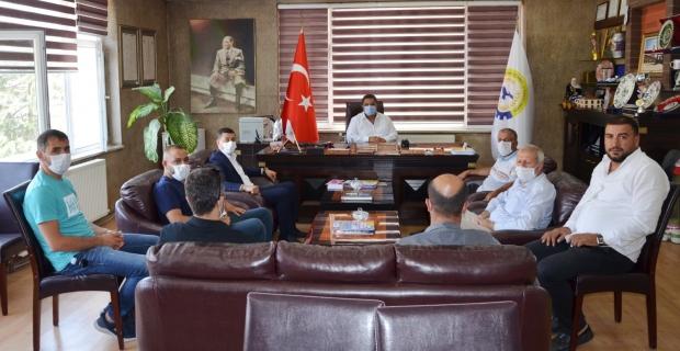 DEVA Partisi Tatvan ilçe yönetiminden odalara ziyaret