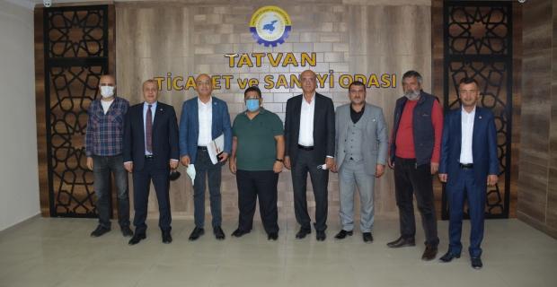 CHP heyetinden TATSO'ya ziyaret