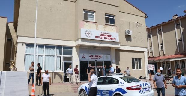 Güroymak'ta silahlı kavga 1 kişi öldü 3 kişi ağır yaralandı