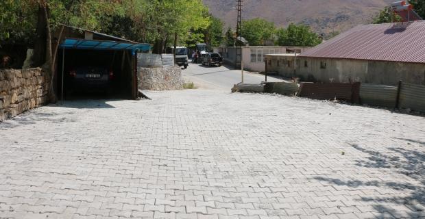 Bitlis'te kilitli parke yol çalışmaları devam ediyor