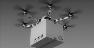 Çin'de ilk: Şehir içi dronla teslimat