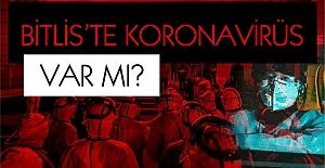 Bitlis'te 'Koronavirüs vakası' var mı?