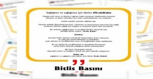 Bitlis basınından 'evde kal' çağrısı