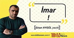 Sinan Aygül #039;Tatvan#039;da İmarı#039;...