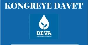 DEVA Partisi'nden kongreye davet