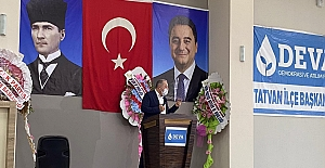 DEVA Partisi Tatvan kongresi ve Bitlis...