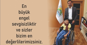 Başkan Geylani'den '3 Aralık Dünya Engelliler Günü' mesajı