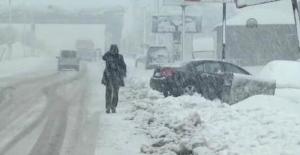 Meteoroloji'den Bitlis için yoğun kar yağışı uyarısı