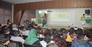 TEMA Vakfından Ahlat'ta öğrencilere bilgilendirme semineri