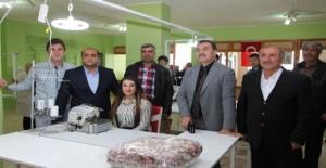 Ahlat'ta kadın girişimci tekstil atölyesi açtı