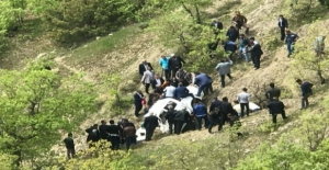 Hizan'da feci kaza! Cenazeleri el ele tutuşup çıkardılar