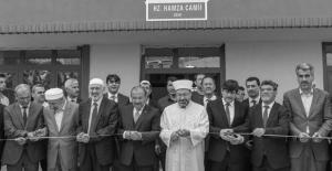 Bitlis Belediyesi tarafından yaptırılan Hz. Hamza Camisinin açılışı yapıldı